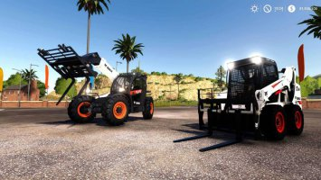 Bobcat 590 and Bobcat SkidSteer fs19