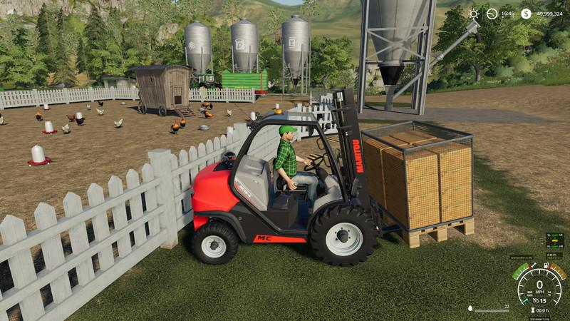 Buyable Egg Pallet FS19