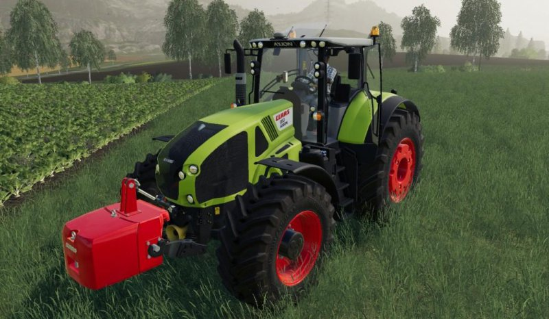 CLAAS Axion 900 v1.1 FS19