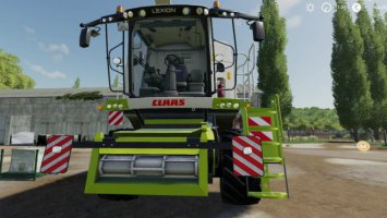Claas Lexion 700 Serie by Sumava Modding