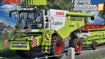 Claas Lexion 700 Series Full Pack v4 fs19