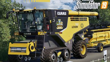 Claas Lexion 700 Series USA Edition fs19