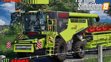 Claas Lexion 795 Monster Limited Edition v2.0 FS19