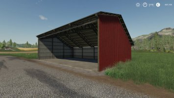 Corrugated Machineshed