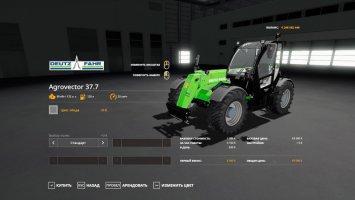 Deutz-Fahr Agrovector 37.7 fs19