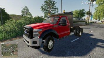 F550 dump truck fs19