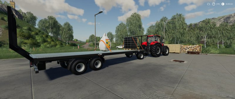 Fliegl DPW 180 squarebales autoload - FS19 Mod | Mod for Farming