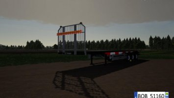Fliegl Flatbed Round Autoload v1.4 fs19