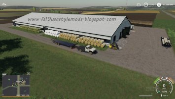 FS19 Big Cow Shed v1.0 fs19
