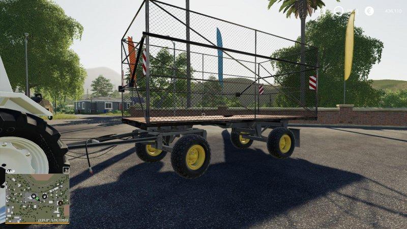 HW 80 Bale Trailer - FS19 Mod | Mod for Farming Simulator 19