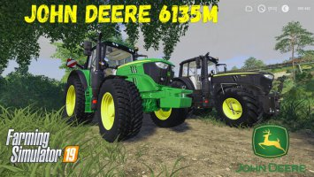 John Deere 6135M and Black Beauty v1.1