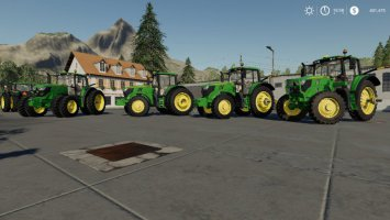 John Deere 6M Series USA