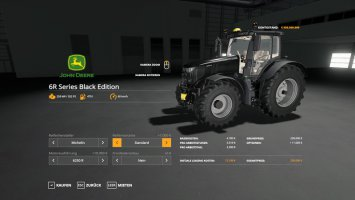 John Deere 6R Black Edition v1.0.0.4