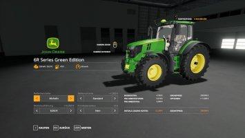 John Deere 6R Green Edition v1.0.0.4