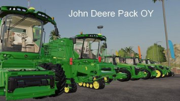 John Deere Pack OY MP v19.5