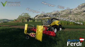 Kemper 360 Plus mit Kemper Komfort Zusatzfahrwerk fs19