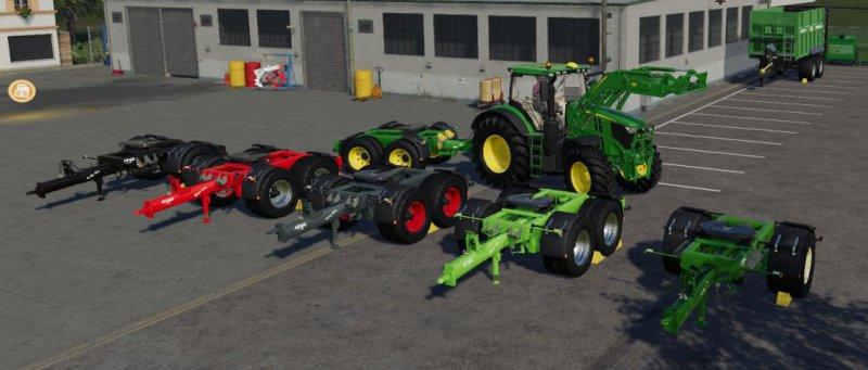 Krampe Dolly Pack - FS19 Mod | Mod for Farming Simulator 19 | LS Portal