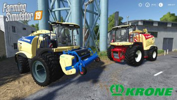 Krone Big X 1180 Edited fs19