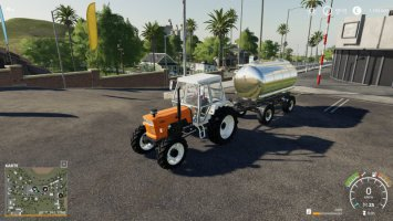 Lizard MKS8 Liquid Fertilizer / Herbicide Adaptation v1.0.0.2 FS19