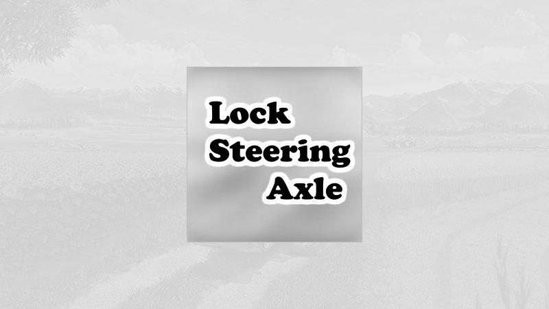 Lock steering axle FS19