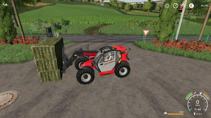 MAGSI 3 square bales fork autoload - FS19 Mod | Mod for Farming