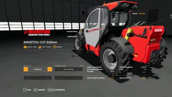 MANITOU CAT-Edition fs19