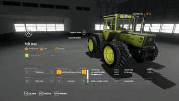 MB Trac 1300 - 1800 1.1.0.0 Beta fs19