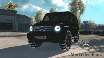 Mercedes Benz G500 2019 1.33.X ets2