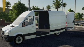 Mercedes benz Sprinter LW v1.2 fs19