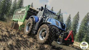 New Holland T7 By Agrar eG Oberberg fs19