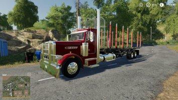 Peterbilt log truck fs19