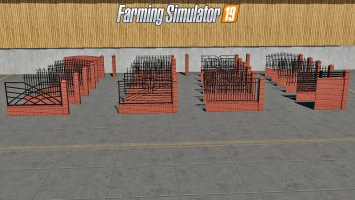 PLACEABLE Fences and Post Pack 2