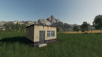 Placeable reception building