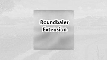 Roundbaler extension