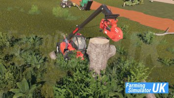 Stump Grinder with Telehandler Mount