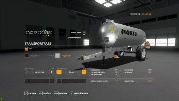 Transportfass v1.1
