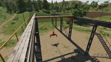 Working Rail Crane V1.2 Fixed fs19