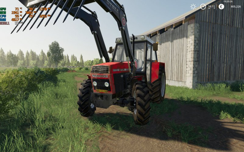 ZETOR 10145 - FS19 Mod   Mod for Farming Simulator 19   LS