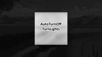 Auto turn off turn lights