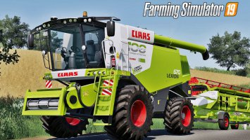 Claas Lexion 670 Full Pack