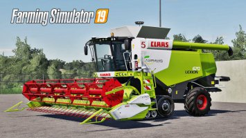 Claas Lexion 670 Full Pack FS19