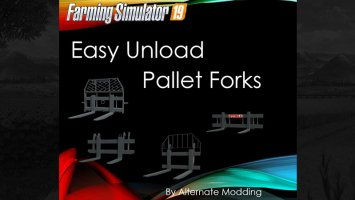 Easy Unload Pallet Forks