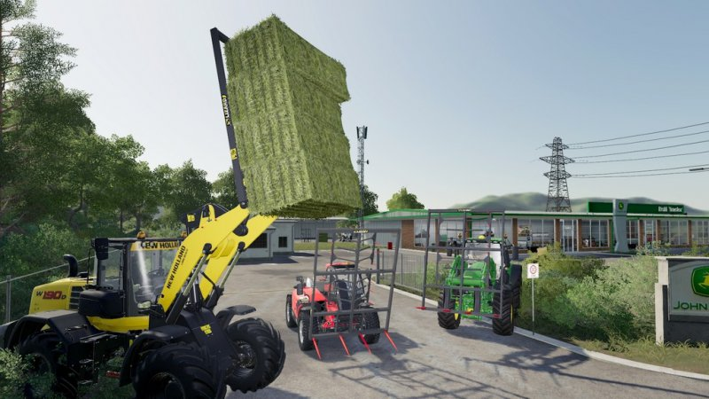 Fork Lizard With Claws - FS19 Mod | Mod for Farming