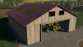 FS09 Implement Shed