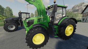 John Deere 6R Green Edition v1.0.0.8