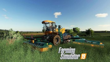 Krone BiG M500  VE Update Fix fs19