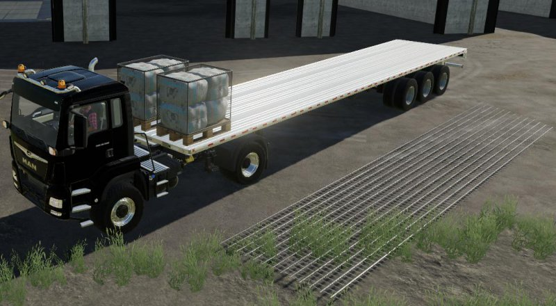 Lizard Flatdeck Autoload / Unload v0 0 1 2 - FS19 Mod | Mod for