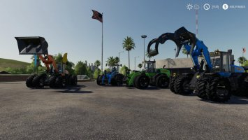New Holland 190 Wheel loader pack fs19