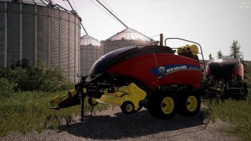 New Holland BB340 USA fs19