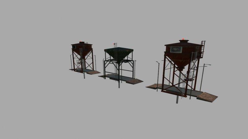 Storage Silo Prefab - FS19 Mod | Mod for Farming Simulator
